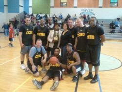 CCSO beats MSP in remembrance basketball game