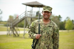 Petty Officer 3rd Class Bernard Washington
