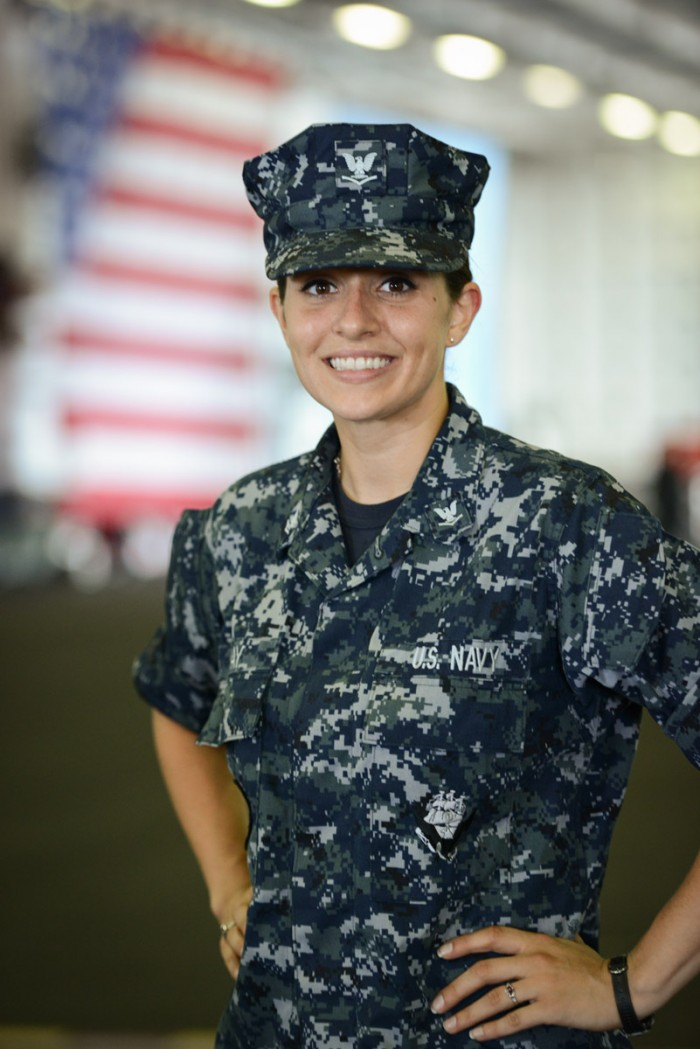 Petty Officer Michelle Gray, from Lusby