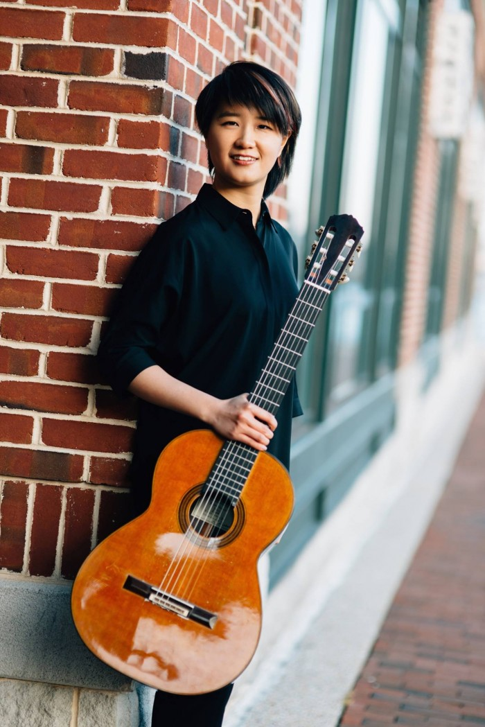 Meng Su, instructor of guitar at SMCM is gold medal-winner of the 2015 Parkening International G ...
