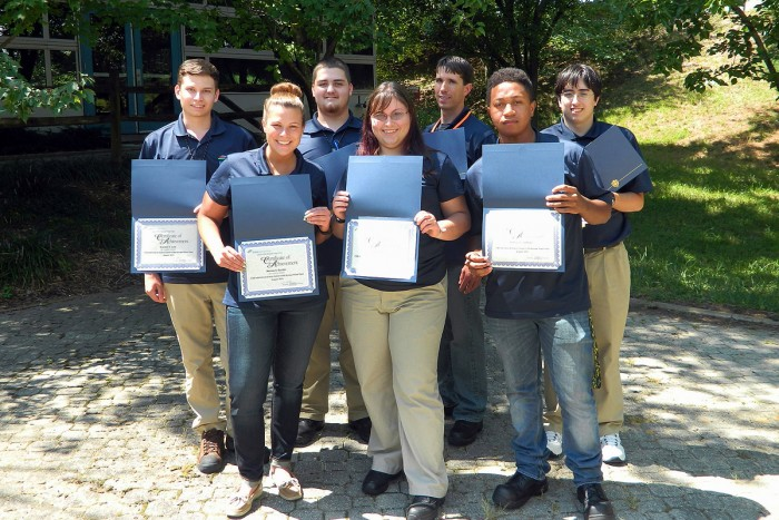 CSM Students Complete Summer Internships at Calvert Cliffs Nuclear Power Plant