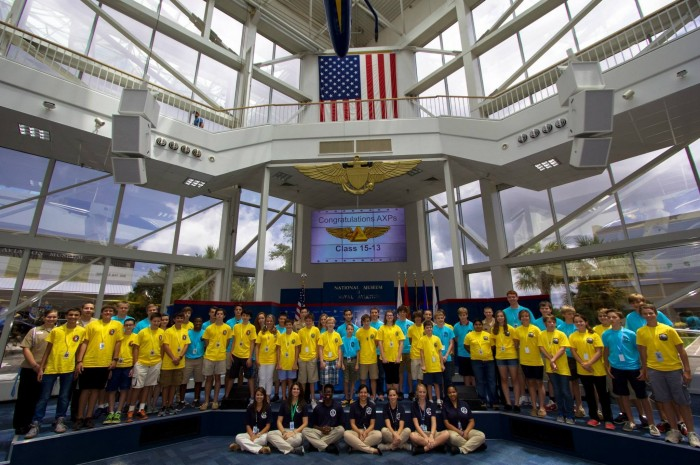 TPP Sends Two Students to National Flight Academy in Pensacola, FL