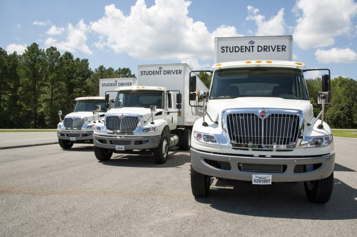 CSM Transportation Training Center Receives New Trucks
