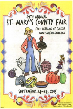 2015 St. Mary's County Fair Catalog Cover
