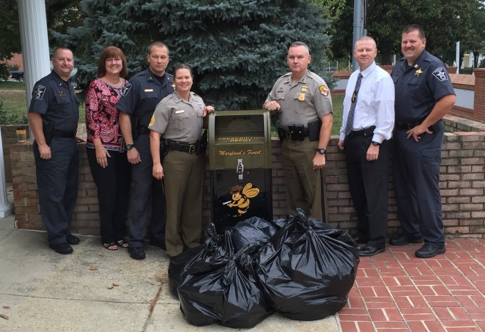 Drug Take Back Day in Calvert
