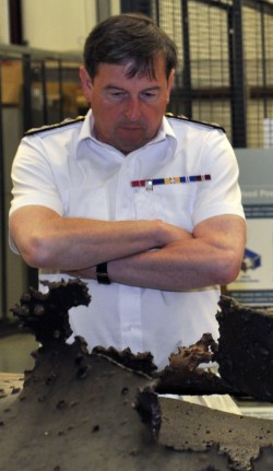 British Royal Navy's Second Sea Lord Visits NSWC Dahlgren Division