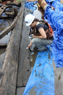 Eighteenth century shipwreck discovered in the Nanticoke River