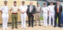 British Royal Navy's Second Sea Lord Visits NSWC Dahlgren Division