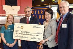 La Plata Rotary Provides Scholarships for CSM Trades