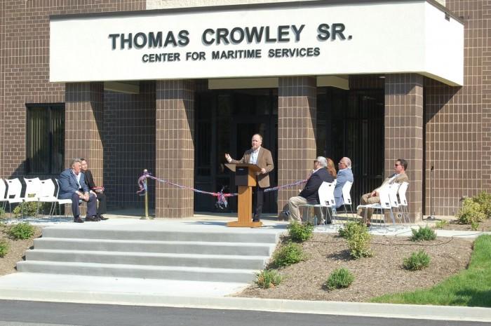 SIU Dedication in Honor of Late Thomas B. Crowley Sr.