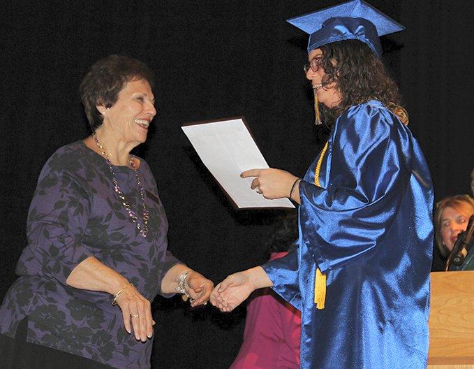 Graduates share their journey at adult program graduation