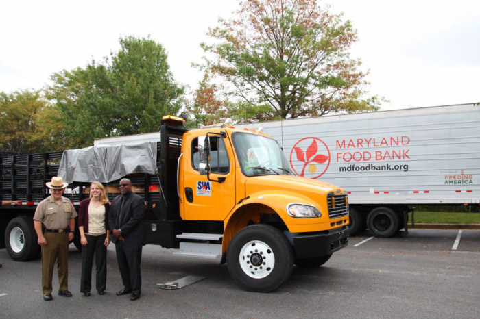 MSP/DoT Collect 27,734 Pounds of Food During Hunger Action Month