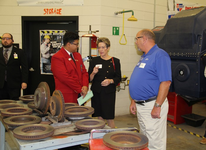 Students showcase college, career readiness at North Point