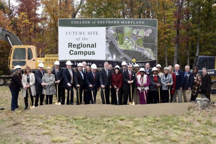 CSM Breaks Ground on Regional Hughesville Campus