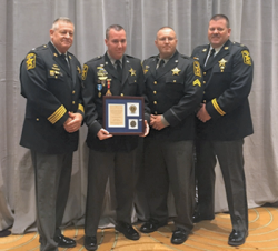 Calvert Sheriff's Office recognized for being second in the nation for Highway Safety