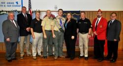 New Eagle Scout, Daniel Lathrop, Recognized