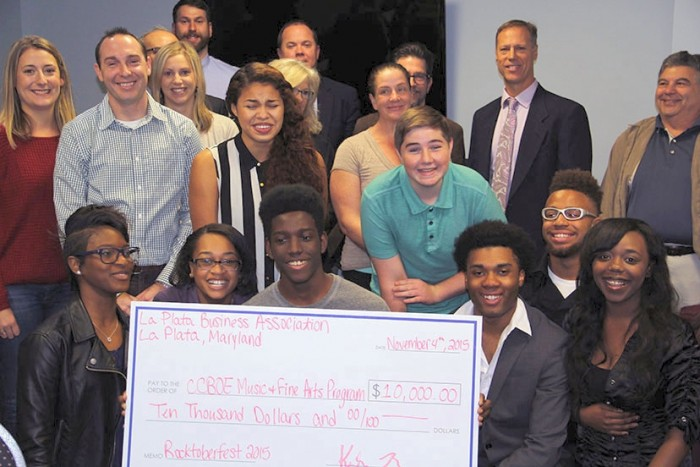 La Plata Business Association supports fine arts in schools