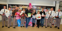 Charles Co. Detention Center employees hold a toy drive
