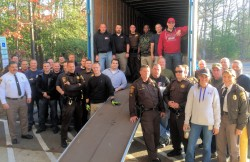 Charles Co. police gather toys and load up trucks for Christmas Connection