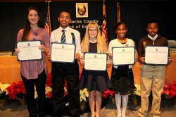Charles Co. Board of Education recognizes outstanding students