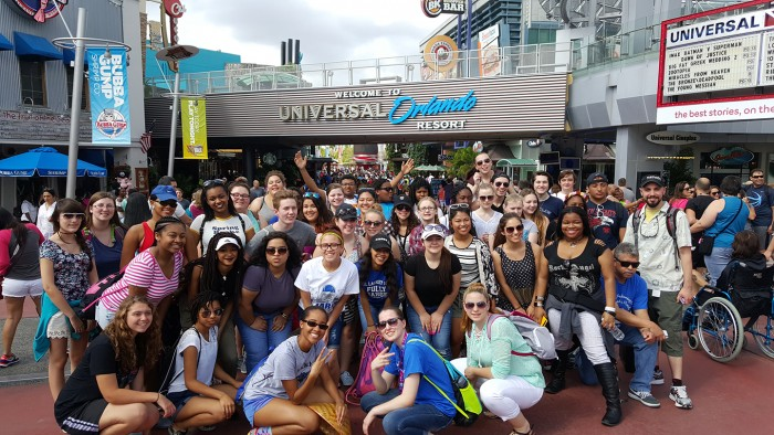 "Henry E. Lackey High School's choir, band and orchestra attends ""Festival DisneyR ..."