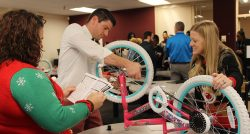 Principals have a wheel-y good time at meeting