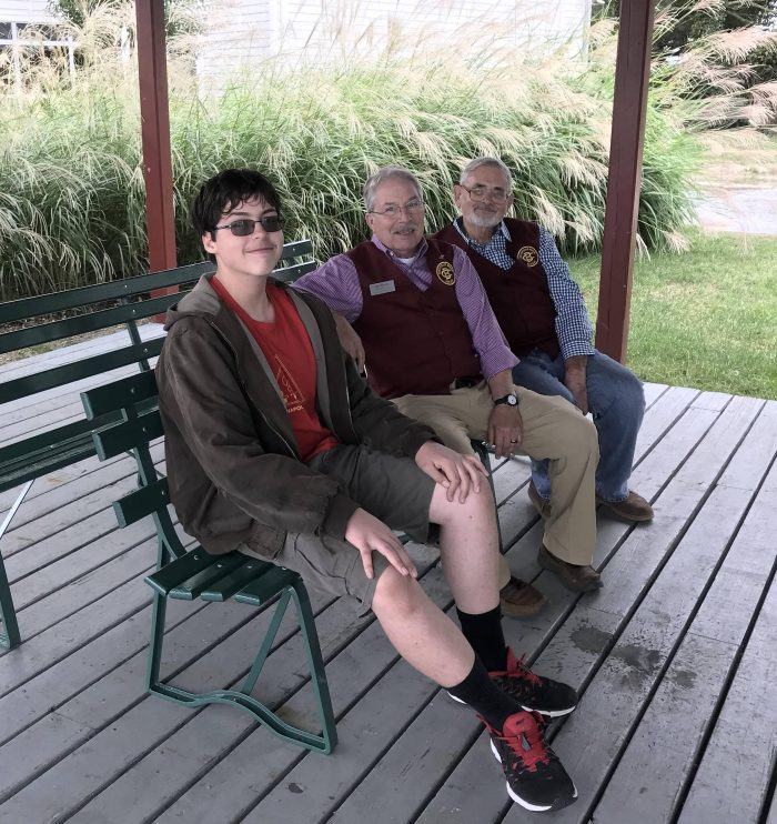 Boy Scout Eagle Scout Project: Railway Museum Benches