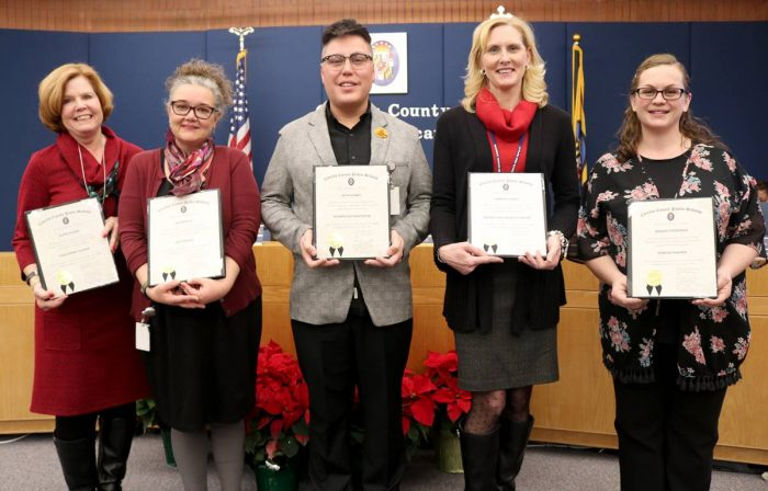 Chas. Co. Board of Ed. Honors Exemplary Staff for Commitment to Children